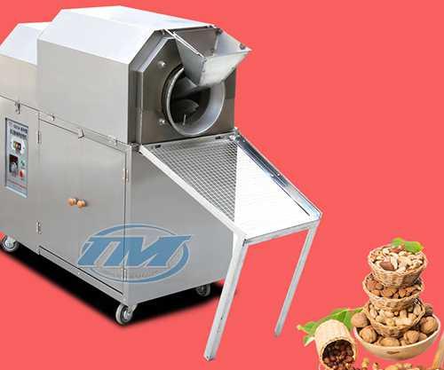 Máy rang hạt XL-25R 1100W dùng gas 25kg/1 mẻ (TMTP-N01)